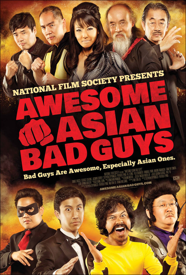 Awesome Asian Bad Guys official movie poster